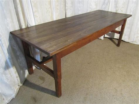 8 ft farmhouse table 8ft french elm farmhouse table and benches antiques atlas