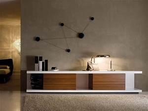 Moderne Tv Möbel : tv st nder aus lackiertem f r moderne wohnzimmer idfdesign ~ Michelbontemps.com Haus und Dekorationen