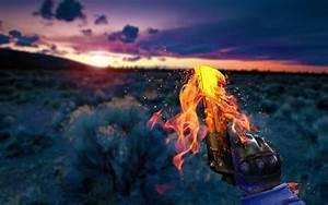 gun, Fire, Counter Strike: Global Offensive Wallpapers HD ...