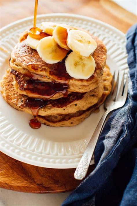 wheat banana pancakes recipe cookie  kate