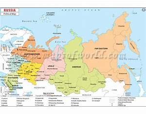 Buy Russia Political Map