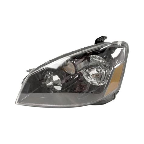 nissan altima headlights sherman nissan altima with factory halogen headlights