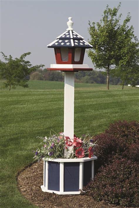 4 painted post for birdfeeder birdhouse or mailbox