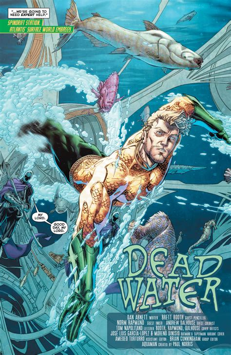 preview aquaman  comic vine
