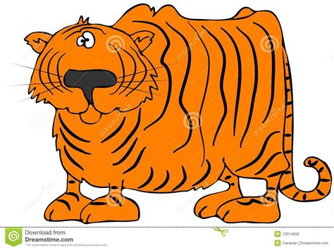 Cartoon Tiger Stock Photos