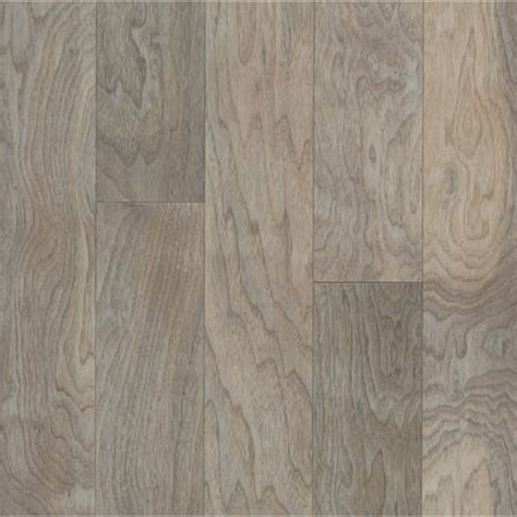 lowes flooring bruce shop bruce 0 375 in walnut locking hardwood flooring sle seashell white at lowes com