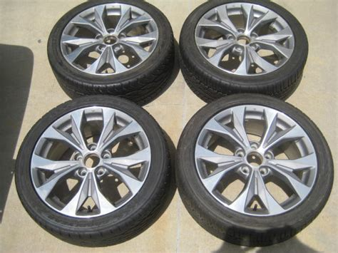 2012 honda civic si rims original 2012 2013 honda civic si 17 rims tires 8th gen