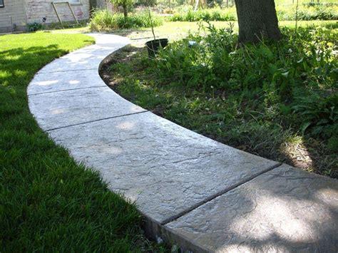 decorative concrete walkways decorative concrete sidewalks harmon concrete