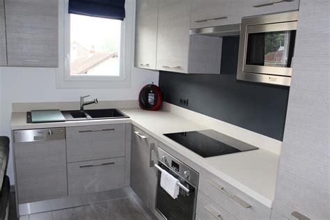 modele cuisine design modele de cuisine en l exemple de cuisine en u darty les