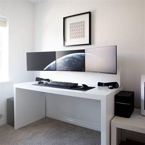 best ikea desk for gaming by jespyy desk 3x dell u2414h monitors xbox one lunar
