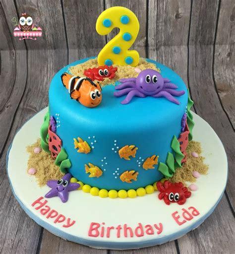 top   aquarium cake ideas  pinterest finding