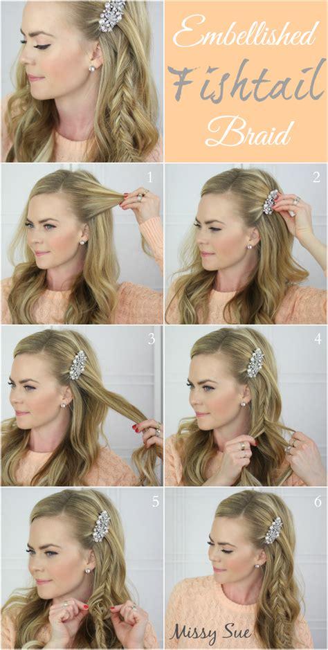 step  step braided hair tutorials fashionsycom
