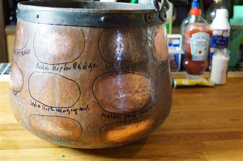 Ehrfürchtig Kupfer Putzen In Reinigen Mit Diesen