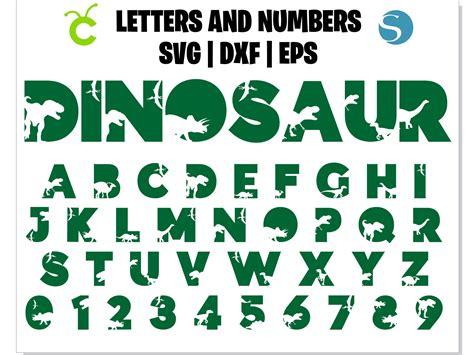 dinosaur font svg dinosaur alphabet svg dinosaur  hotfont