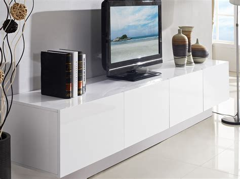 majeston white floating tv cabinet