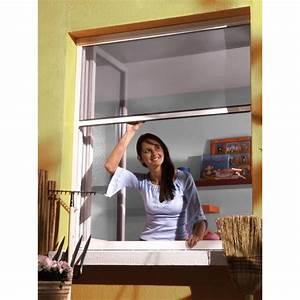 Moustiquaire Pour Fenêtre De Toit : moustiquaire enroulable l150xh160 alu blanc achat ~ Dailycaller-alerts.com Idées de Décoration