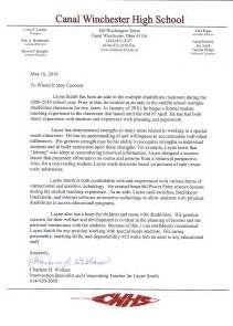 letter of recommendation for high school student best photos of sle student recommendation