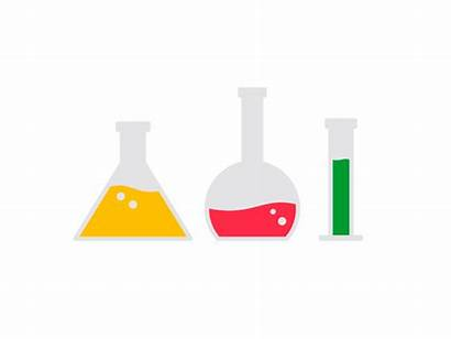 Beakers Science Animated Animation Graphic Dribbble