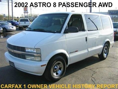 accident recorder 2002 chevrolet astro seat position control sell used 2002 chevy astro 8 passenger van auto a c climate control chrome 1 owner vehicle in