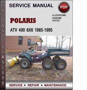 Polaris Atv 400 6x6 1985