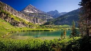 Nature, Lake, Mountain, Canada, Wallpapers, Hd, Desktop, And