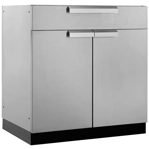 stainless steel kitchen storage cabinets newage products stainless steel classic 32 in bar 32x33