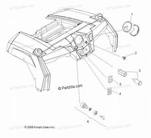 Polaris Side By Side 2009 Oem Parts Diagram For Electrical