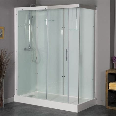 cabine leroy merlin cabine de rectangulaire 120x90 cm thalaglass 2 thermo leroy merlin