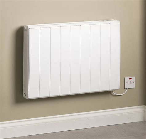kw  rad electric radiator white