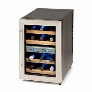Cave A Vin Occasion : cave vin 12 bouteilles 2 zones de temp ratu achat ~ Premium-room.com Idées de Décoration