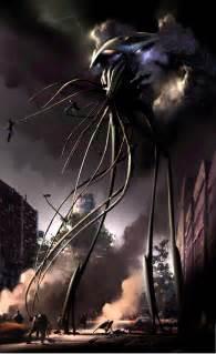 War of the World's Alien Concept Art