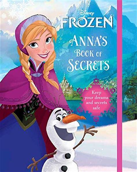 image frozen anna  book  secrets frozen