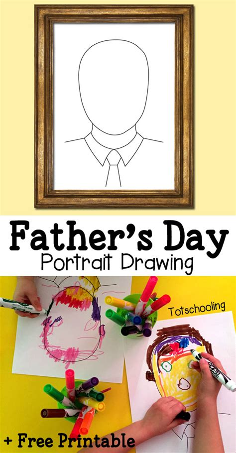 fathers day portrait drawing  homeschool deals
