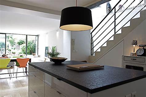 chambre avec mezzanine cuisine ouverte sur séjour c0137 mires