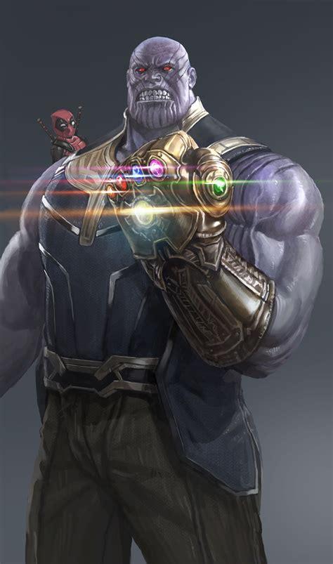 ArtStation - Thanos, in shoo