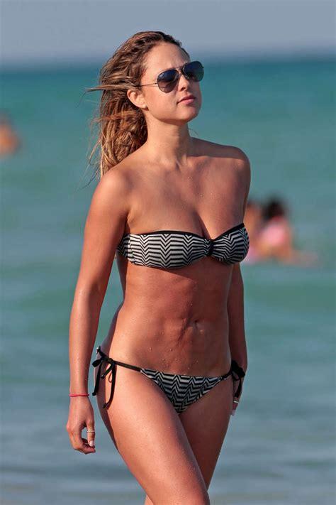 vanessa huppenkothen  bikini   beach  miami