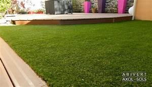 Pose Gazon Synthetique Sur Terre : pose gazon synthetique sur dalle beton comment poser du ~ Dailycaller-alerts.com Idées de Décoration