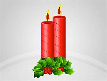 Candles Christmas Vector Clipart Candle Cliparts Graphics