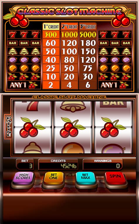 Classic Slot Machine Free  Android Apps On Google Play