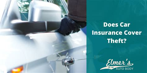 However, liability benefits are all that most states require you to carry. Does Car Insurance Cover Theft?   Elmer's Auto Body