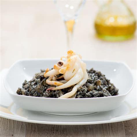 seiche cuisine recette risotto aux fruits de mer à l 39 encre de seiche