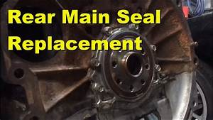 How To Replace Rear Main Seal 1jz And 2jz Engine