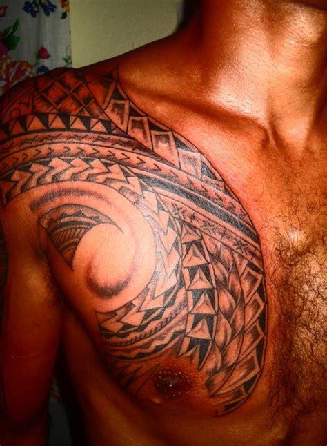 Best Maori 2012 Chest Tattoos From Mestupinks Fiji