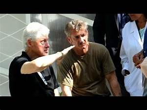 Bill Clinton Sean Penn Visit Relief Organisation In Haiti