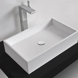 Vasque à Poser Design : vasque a poser design table de lit ~ Edinachiropracticcenter.com Idées de Décoration