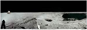 APOD: 2007 July 20 - Apollo 11: East Crater Panorama