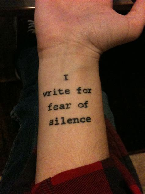 wrist quote tattoo idea