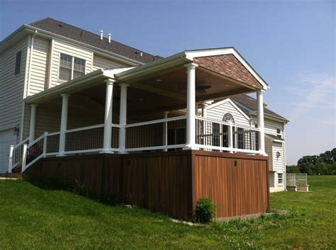 how to build a deck with roof how to build a roof over your deck decks com