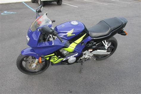 honda cbr 600cc for sale blue 1995 honda cbr 600cc sport bike for sale on 2040 motos