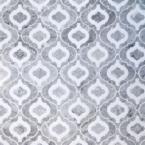 water jet cut custom mosaic tiles contemporary wall